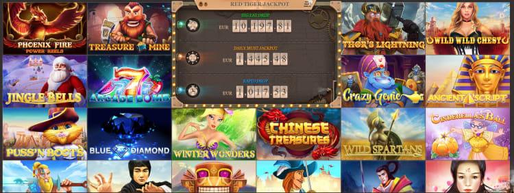 ジョイカジノのジャックポットゲーム一覧