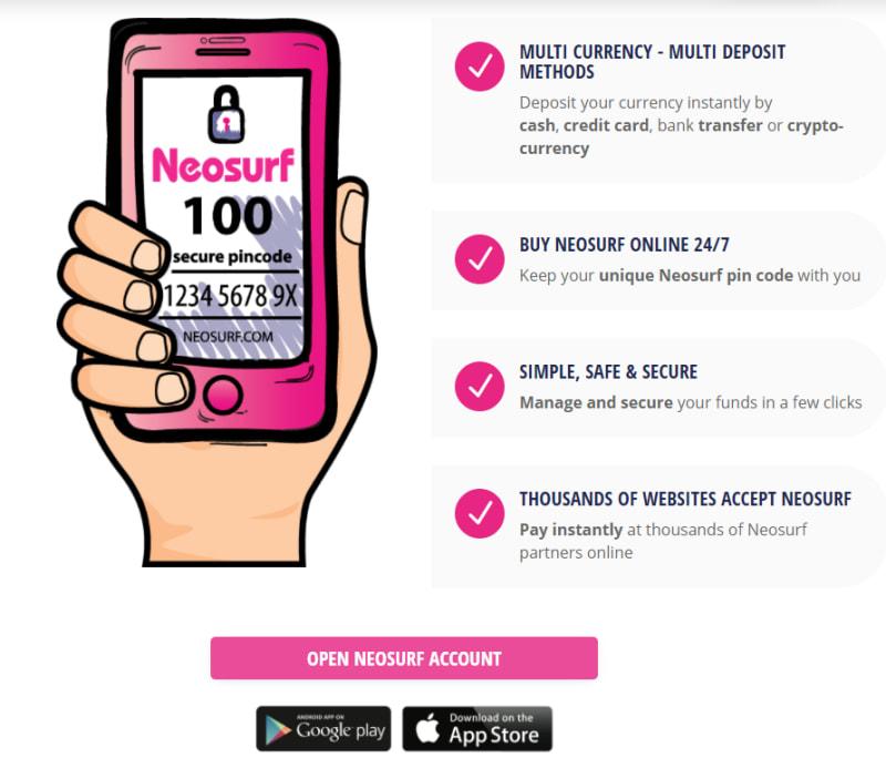 ネオサーフのアプリ