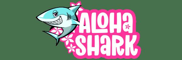 アロハシャークのロゴ