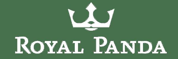 ロイヤルパンダカジノの白ロゴ