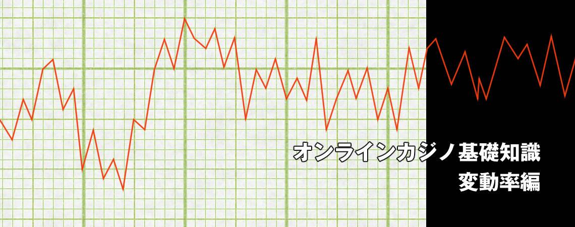 オンラインカジノ基礎知識 変動率編
