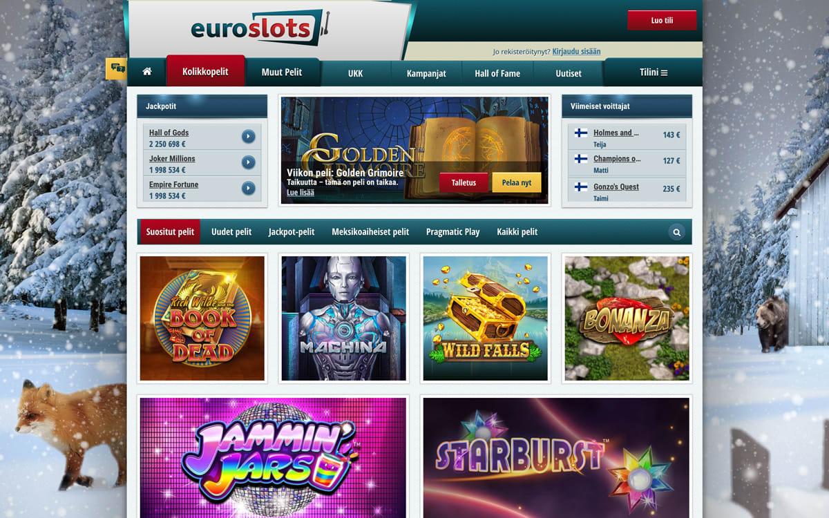 euroslots-casino-pelit