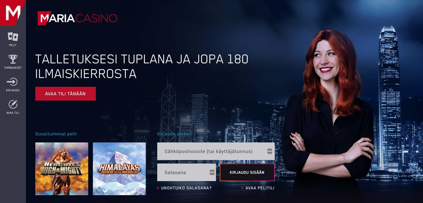 maria-casinon-esittely-ja-kuvaus-sivustosta