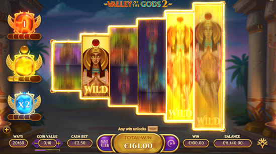 JP Valley of The Gods 2のボーナスゲーム