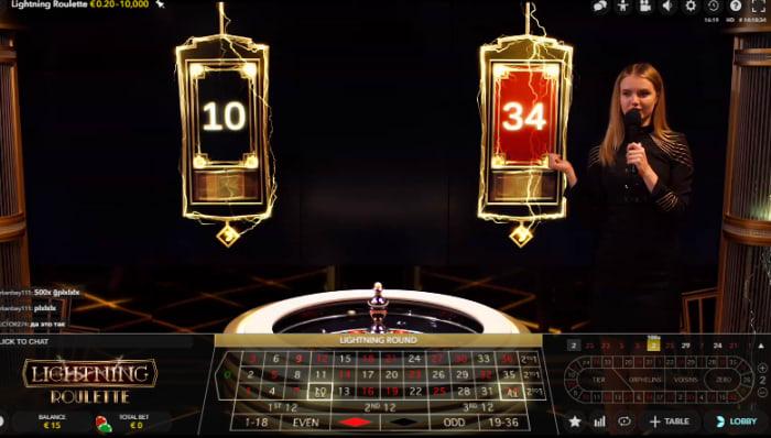 オンラインカジノ大人気ゲーム「ライトニングルーレット」