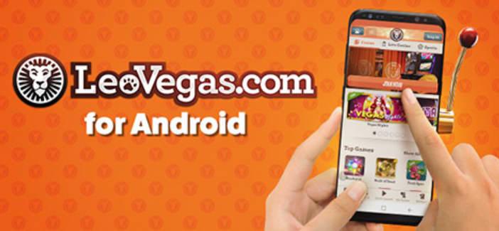 レオベガスのアンドロイドアプリ