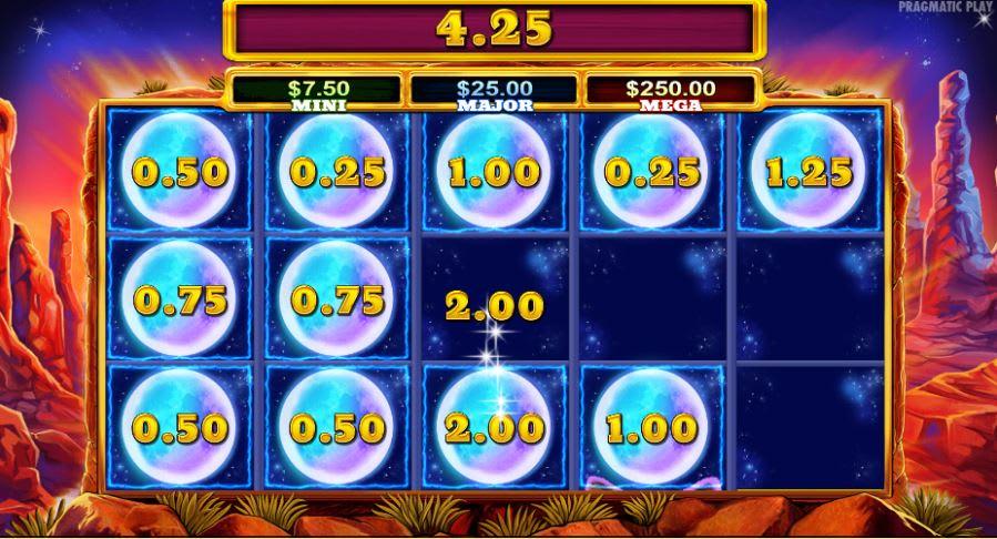 カシュミオカジノのジャックポットゲーム「ウルフゴールド(Wolf Gold)」