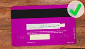 ベラジョンのクレジットカード撮影の例