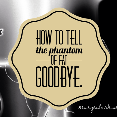 How to tell the Phantom of Fat goodbye after weight loss surgery.