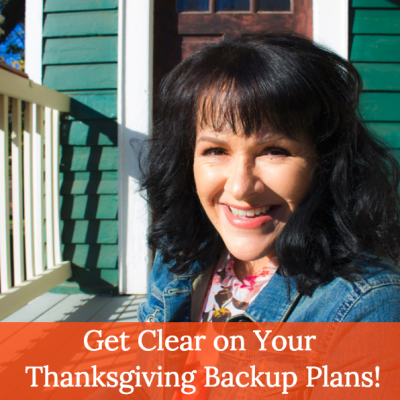 Your Weight Loss Surgery Thanksgiving Backup Plan!