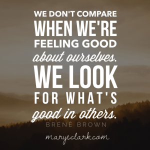 brené brown the best you can comparison