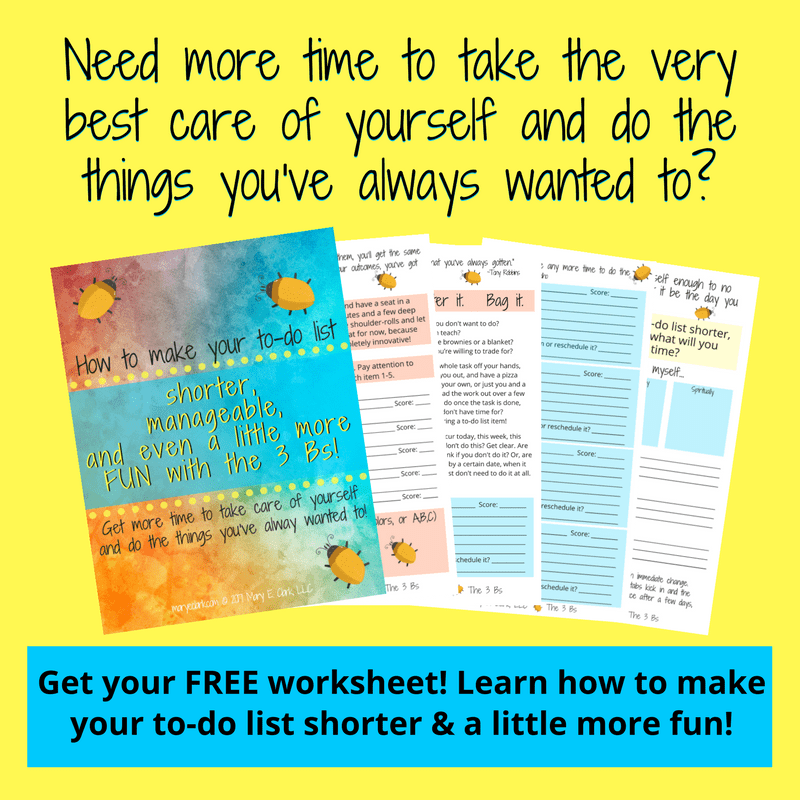 make your to-do list shorter