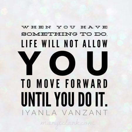 iyanla vanzant life will not allow you to move forward