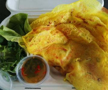Bánh xèo - Crispy yellow pancake