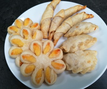 Selection of Vietnamese pastry