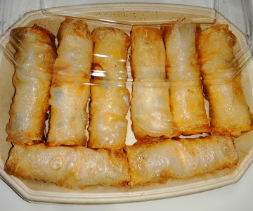 Crispy Spring Roll box - Ready to eat