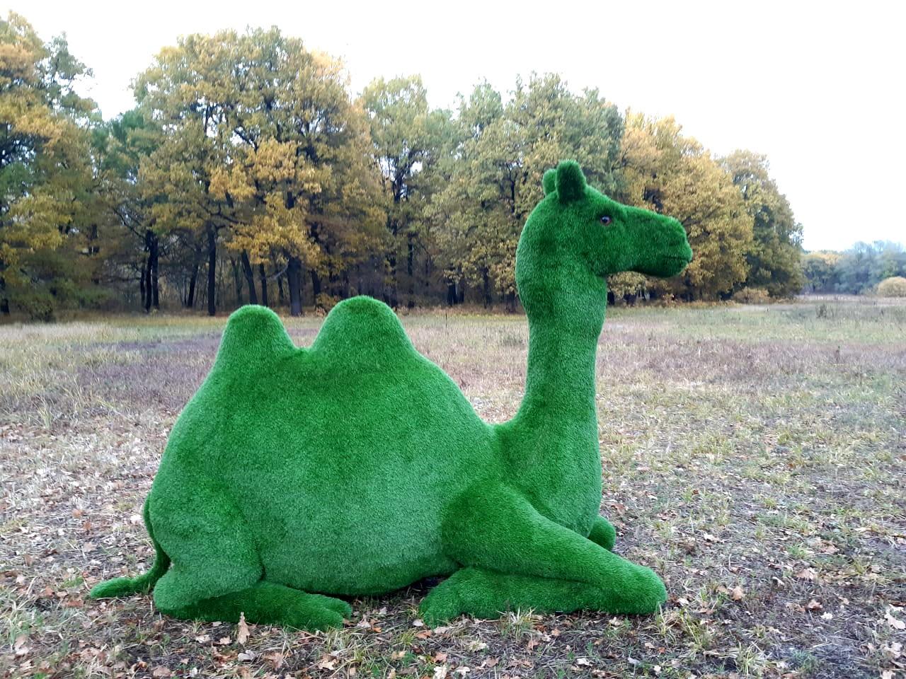 Арт-объект «Верблюд» в Качканаре. Фото: пресс-служба администрации города