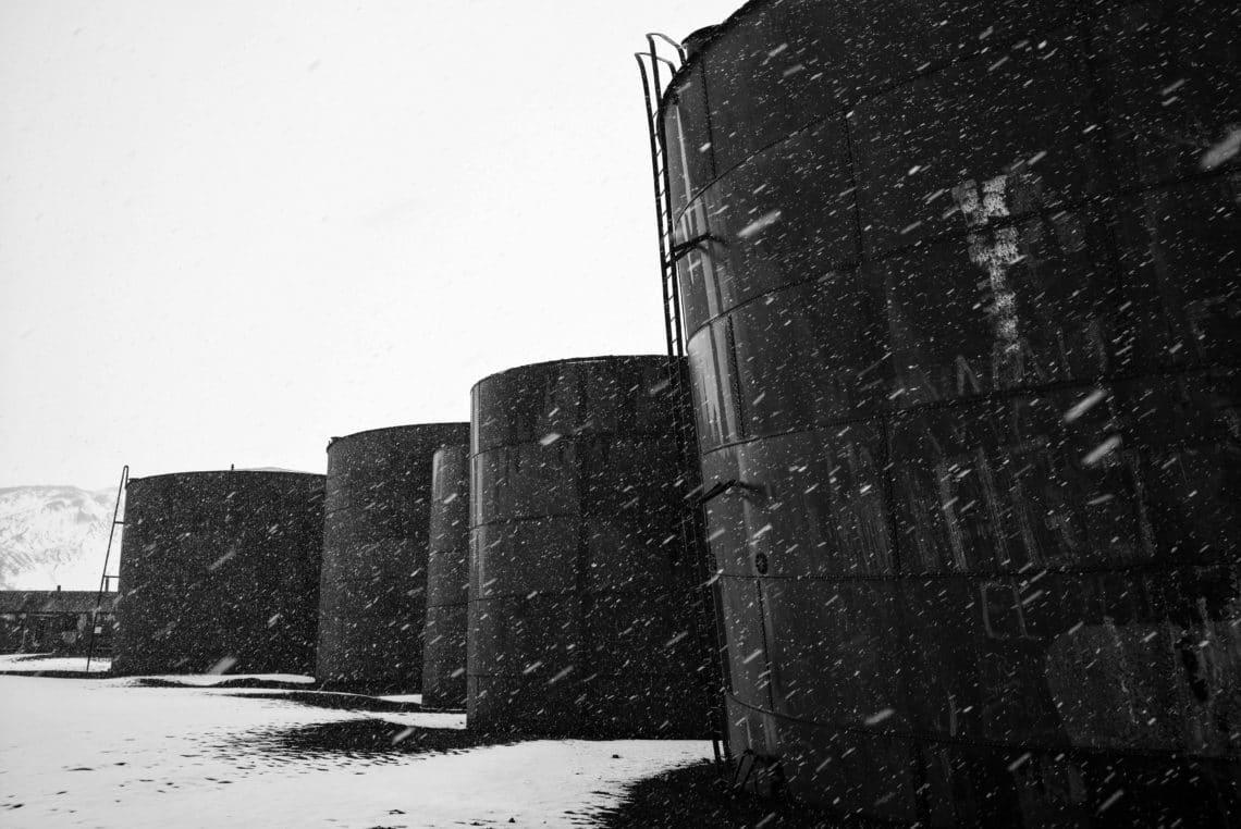 Walfangstation auf Deception Island