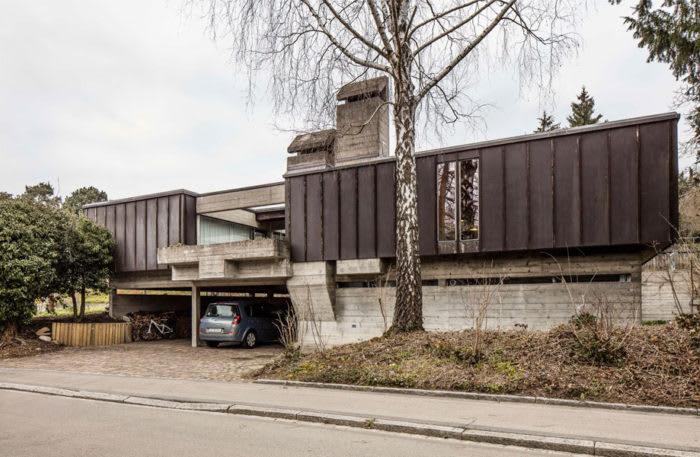 Umbau EFH vom Architekten Pierre Zoelly