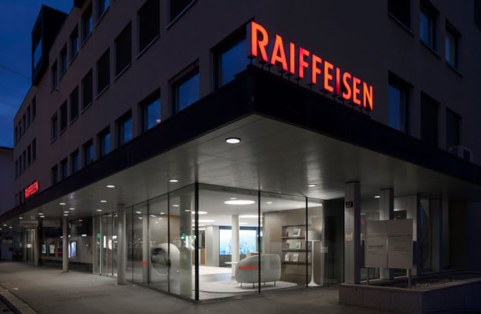 Umbau Raiffeisenbank Thalwil