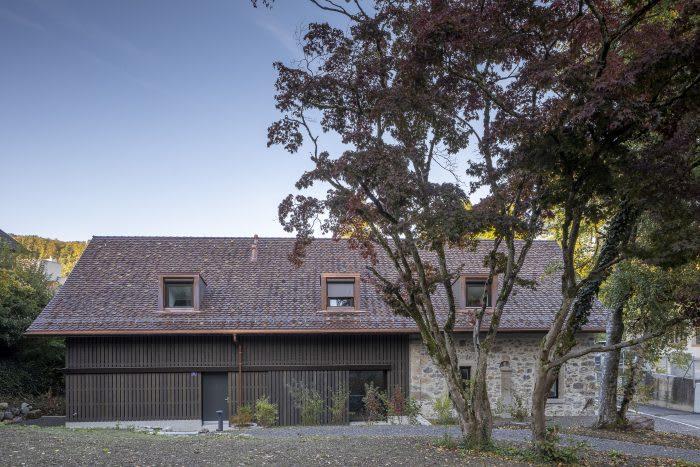 Ersatzbau Scheune Mühle Gattikon