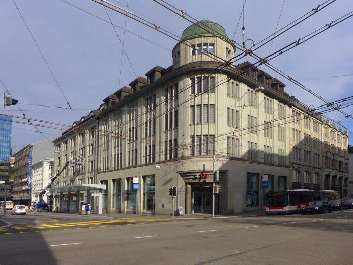 UBS Bahnhofplatz St.Gallen