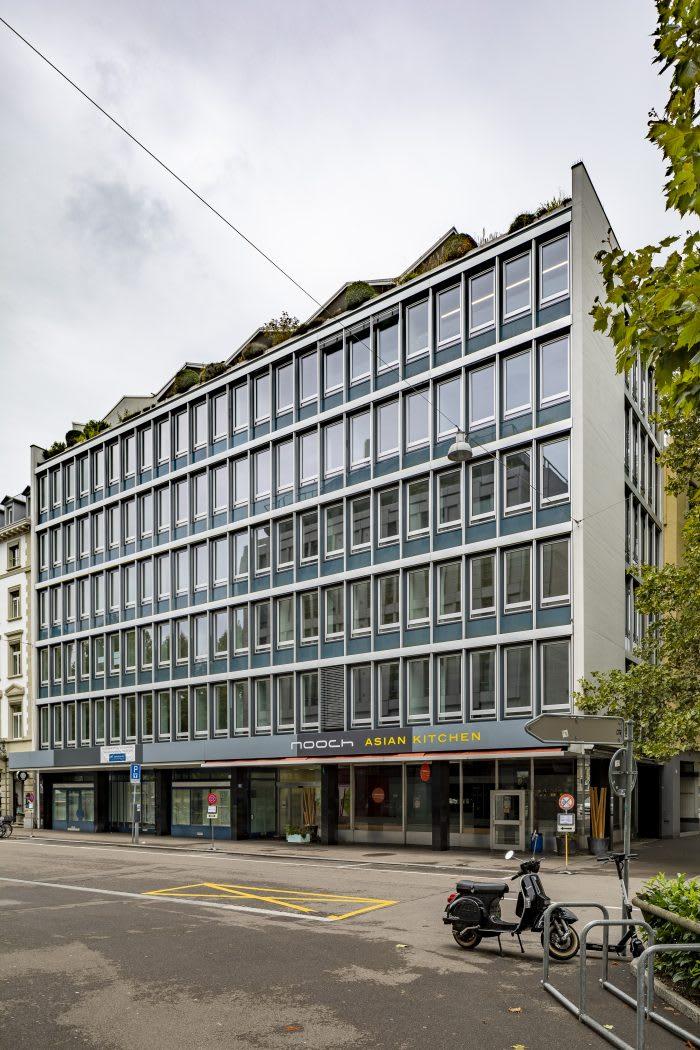 Sanierung Geschäftshaus Textor