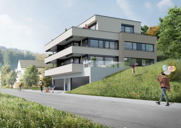 Neubau Mehrfamilienhaus K34