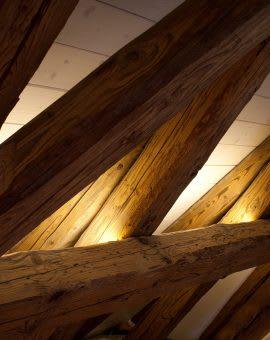 Innenraumbeleuchtung im einklang mit antiken Wohnräumen und Museen