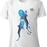 Shimha's Whale Shark Design Run T-Shirt