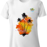 Cartman.Ayya's Sunset Design Run T-Shirt