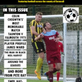 A magazine featuring football throughout the county of Cornwall