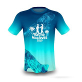 Featured Tshirt of Run for Maldives. Whale Shark Design