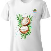 Shimha's Coconut Design Run T-Shirt