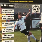 The price includes postage for the magazine that features football across Cornwall