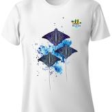 Shimha's Eagle Ray Design Run T-Shirt