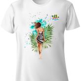 Shimha's Girl Design Run T-Shirt