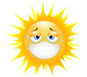 Sun w mask