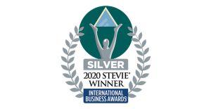 2020 international stevie award silver badge