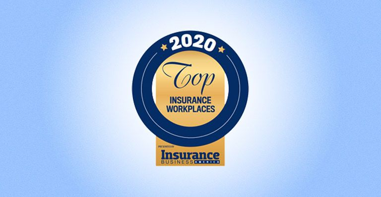 2020 top insurance workplaces badge new