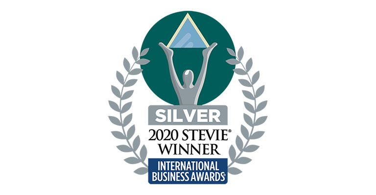 2020 international stevie award silver badge