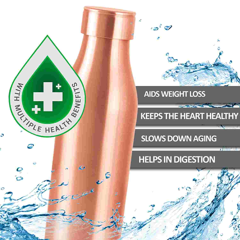 Milton Copper Water Bottle