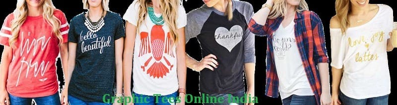 graphic t shirt, poonam store