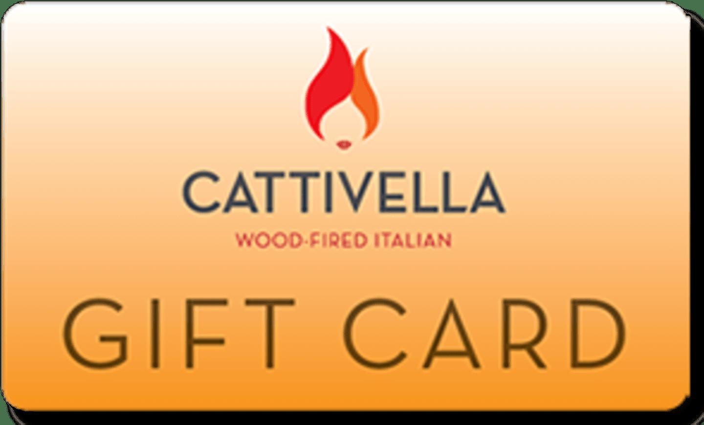 Cattivella gift card