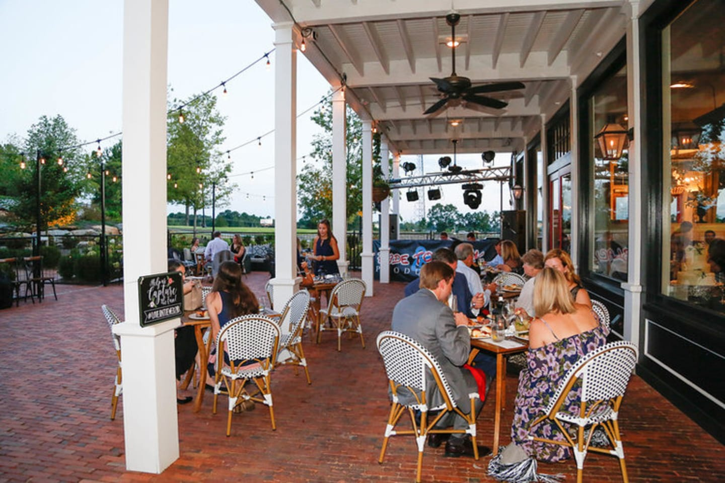 morten's old town patio event