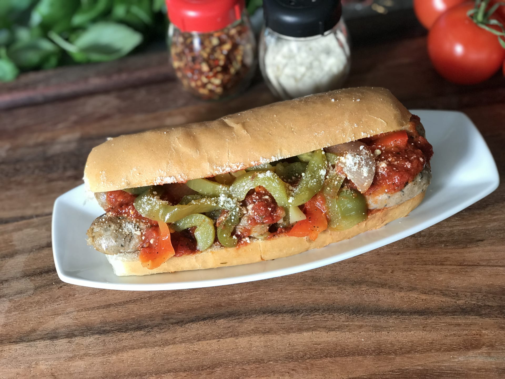 Sausage & Peppers Sandwich