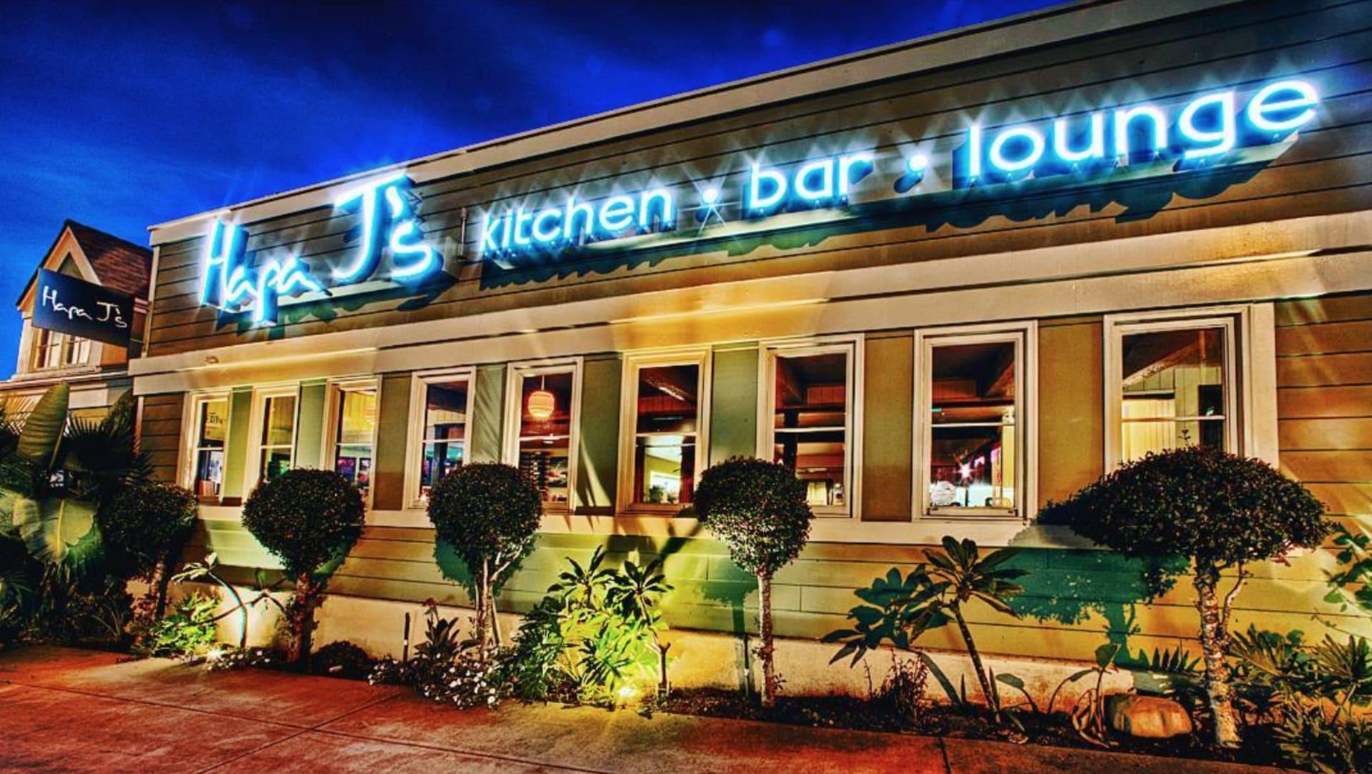 Kitchen. Bar. Lounge