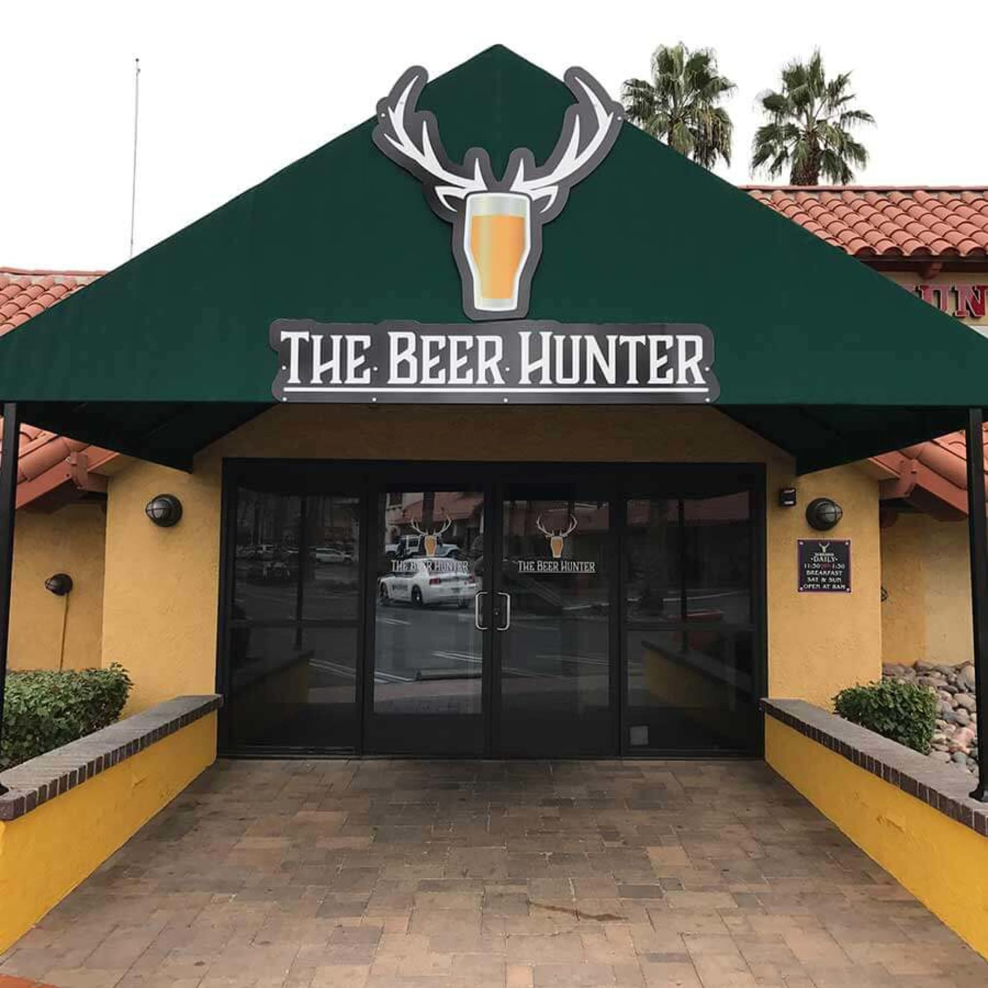 the beer hunter exterior