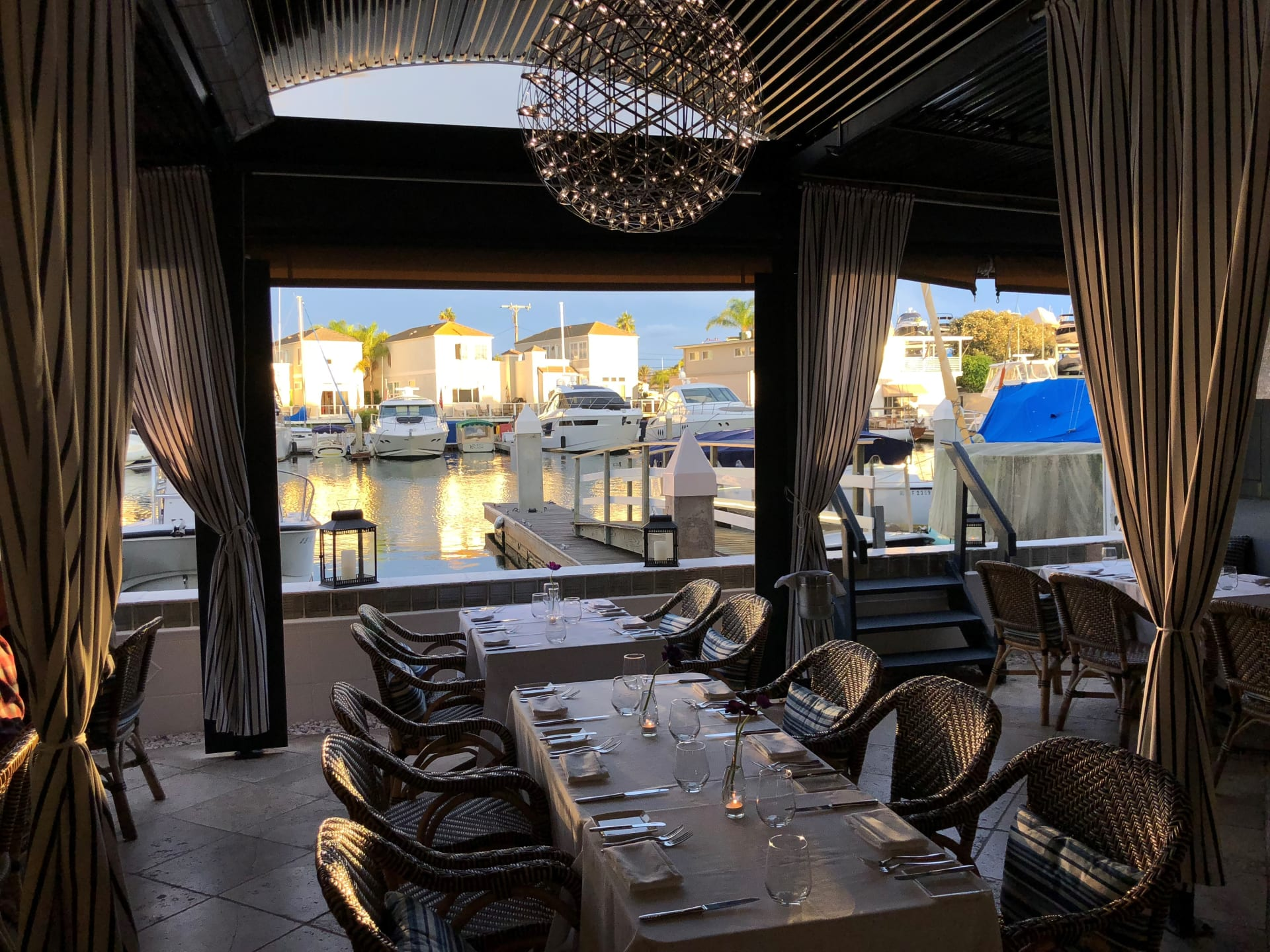 Dine by the Waterfront