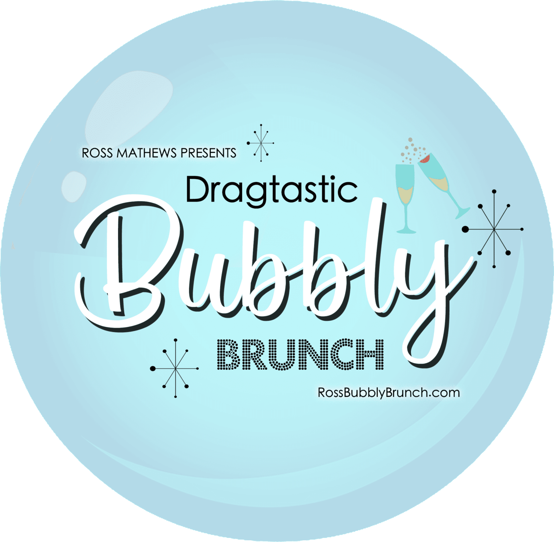 dragtastic bubbly brunch icon